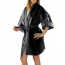 KIMONO NERO LIGHT In TNT. Imbustato, con tasca laterale. 10 PZ