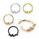 Circular Clicker Snake Gold 1.2ø X 10mm