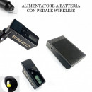 SET WIRELESS BATTERIA DC & PEDALE DISPONIBILE ORA