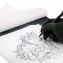 Carta Ectografica A4 per uso esclusivamente a mano 20 PZ