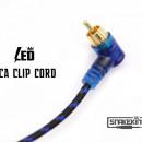 CAVO CON CLIP RCA A LED SNAKEKING Blu