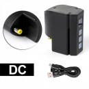 Mini Alimentatore Wireless DC senza fili a batteria