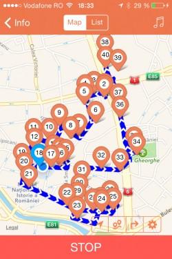 Poze Audio Ghid activat GPS (via smartphone)