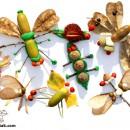 ATELIER COLAJE: jucării / decorațiuni / mici tablouri (cu elemente din natură) (grup minim: 4 persoane / 1 ora)