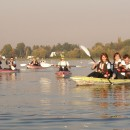 CIRCUIT cu CAIACE pe Lacul Snagov (2h): Inițiere > Consolidare > Explorare > Tematice (7-11 trasee)