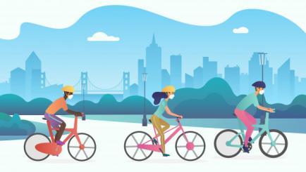 5 masuri de siguranta pentru a te deplasa cu bicicleta pe timp de Coronavirus