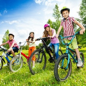 Initiere bicicleta copii