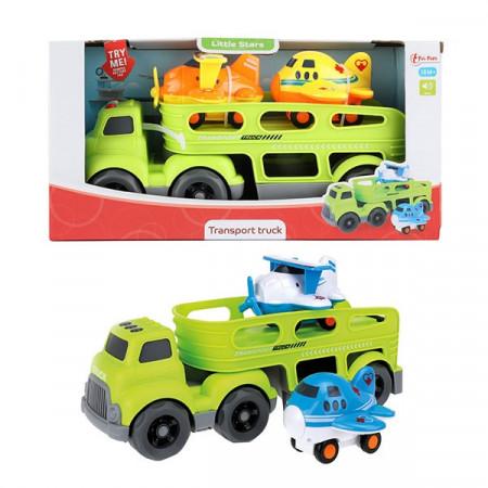 Camion Little Star cu Sunete si 2 Avioane Incluse