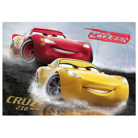 Puzzle Dino Cars 3-100 Piese XL