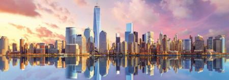 Puzzle Trefl, Panorama Manhattan, 1000 piese