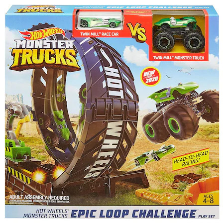 Set de joaca Hot Wheels, Epic loop challenge