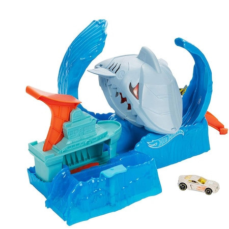 Set de joaca Hot Wheels, Robo shark frenzy