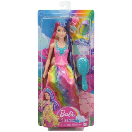 Papusa Barbie Dreamtopia-Printesa cu Parul Lung