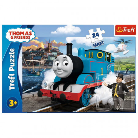 Puzzle Maxi Trefl, Happy Thomas day, 24 piese