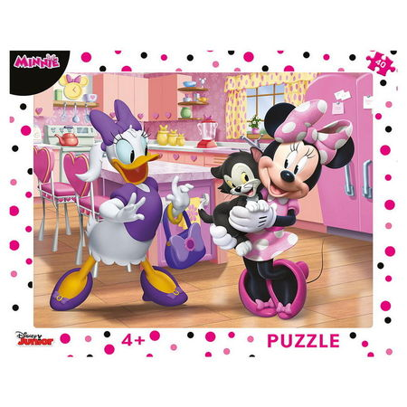 MINNIE ROZ 40 PCS PLACA