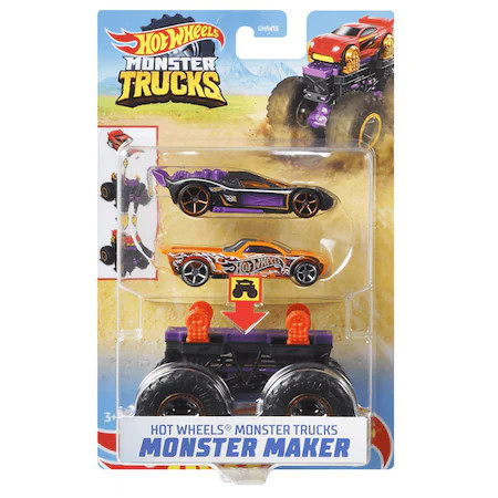 Set Hot Wheels Monster Trucks Monster