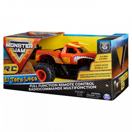 Masinuta cu Telecomanda Monster Jam - El Toro Loco 1/24