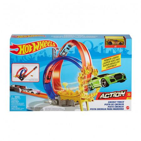 Set de Joaca Hot Wheels-Energy Track