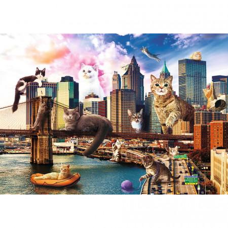 PUZZLE TREFL 1000 PISICUTE LA NEW YORK
