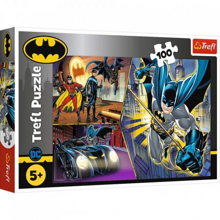 Puzzle Trefl, Batman neinfricatul, 100 piese