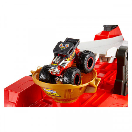 Set de joaca Hot Wheels - Monster Trucks 2 in 1
