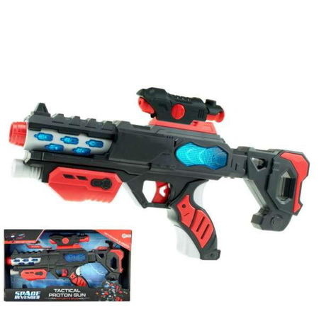Arma Spatiala 37 Cm cu Lumini si Sunete Toi Toys-Tactical Proton Gun