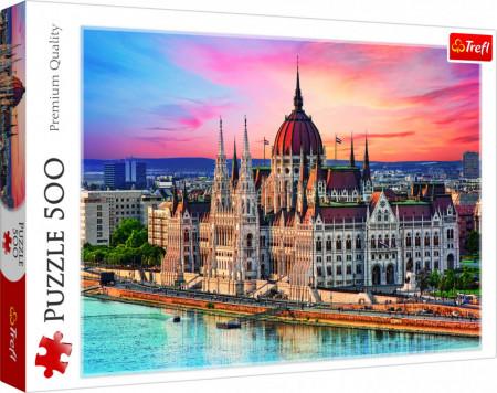 Puzzle Trefl ,Budapesta,500 piese