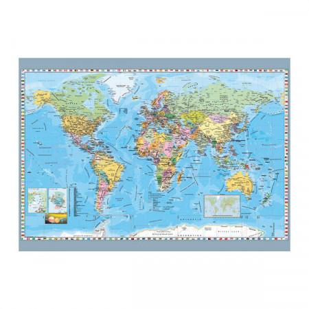 Puzzle Dino 1000 piese - Harta Politica a Lumii