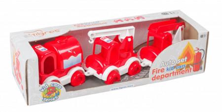 Set Masini Pompieri Tigres