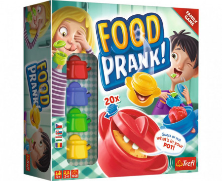 Joc Trefl Food Prank,Glume cu Mancarea