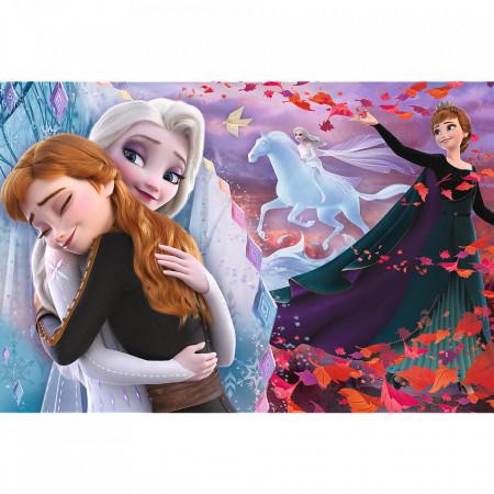 Puzzle Trefl, Disney Frozen II, Impreuna pentru totdeauna, 100 piese