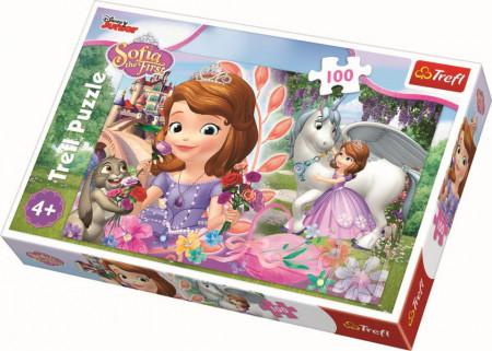 Puzzle Trefl, Disney Sofia, Aventura la castel, 100 piese