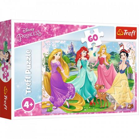 Puzzle Trefl, Frumoasele Printese Disney, 60 piese