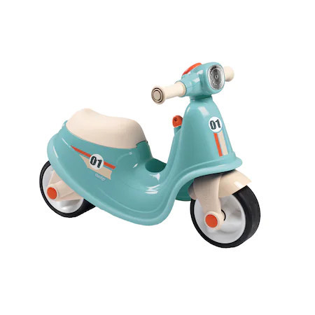 Scooter Ride-on Smoby - Corolle, albastru
