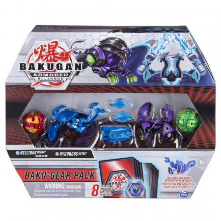 Set Bakugan Armored Alliance Baku-Gear - Ultra Hydorous si Nillious