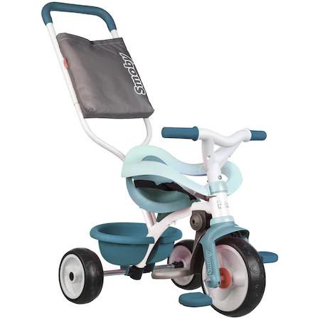Tricicleta Smoby Be Move Comfort, cu roti silentioase, bleu