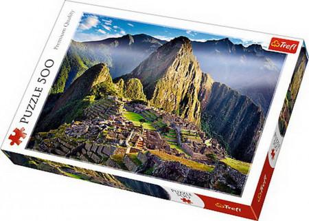 Puzzle Trefl, Sanctuar in Machu Picchu, 500 piese
