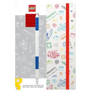 Agenda LEGO cu pix