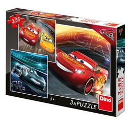 CARS 3: TRAININK NEW 3x55 PCS