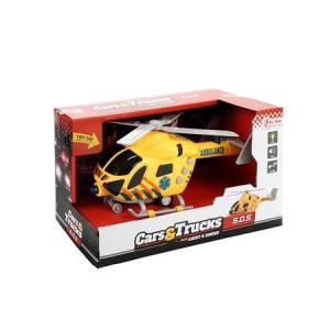 Elicopter Toi Toys cu Lumini si Sunete,Galben