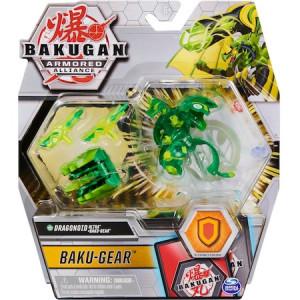 Figurina Bakugan Armored Alliance - Ultra Dragonoid, Verde