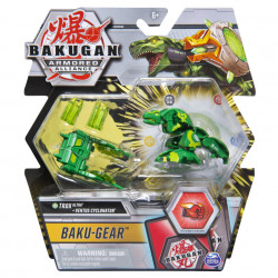Figurina Bakugan Armored Alliance - Ultra Trox, cu Baku-Gear Ventus Cyclonator