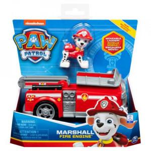 Figurina cu Vehicul Paw Patrol-Marshall Fire Engine