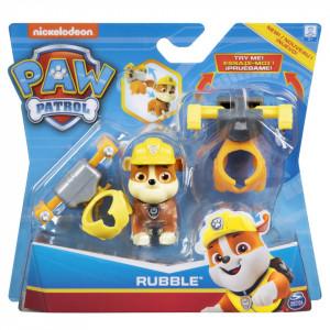 Figurina Paw Patrol - Rubble, cu accesorii