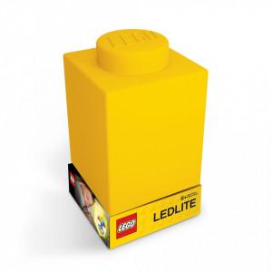 Lampa Caramida LEGO galbena