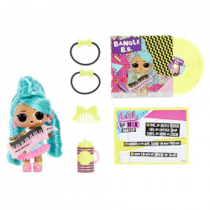 LOL Surprise Remix Hair Flip, Papusa cu 15 surprize