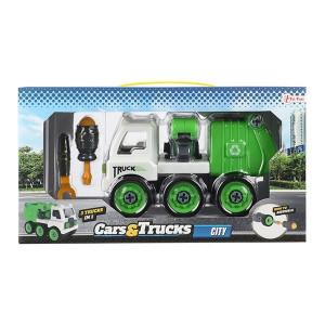 Masina de reciclare Toi-Toys ,demontabila,3in1