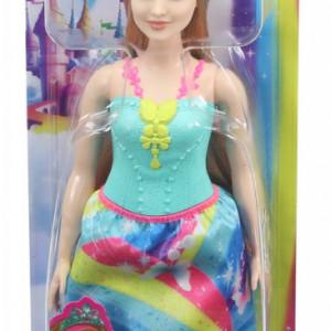 Papusa Barbie Dreamtopia - Printesa cu coronita albastra