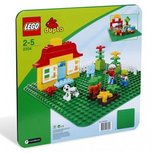 Placa verde LEGO DUPLO
