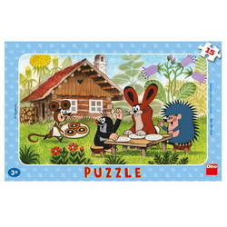 PUZZLE LITTLE MOLE 15PCS PLACA